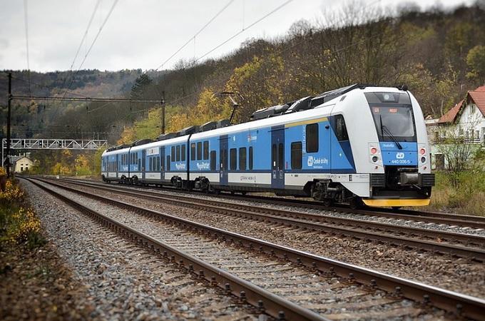 Vlak, ilustrační snímek. Foto: archiv Pixabay.com